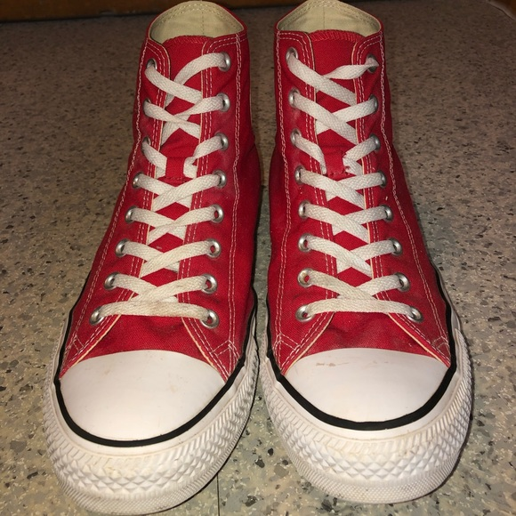 Converse Shoes | Converse Red High Tops